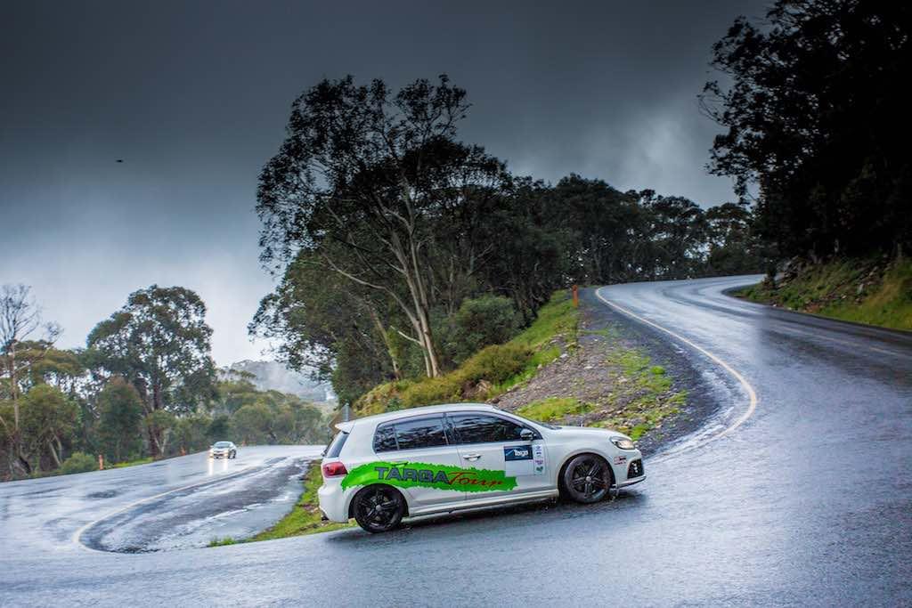 VW Golf Targa - Hairpin Wet